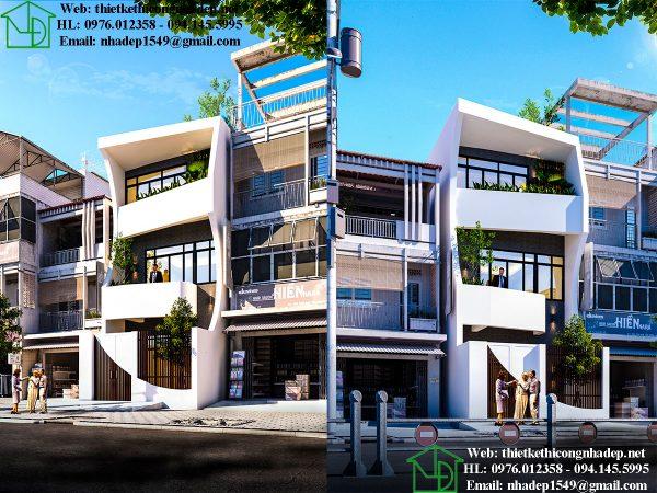 Mẫu nhà phố độc đáo nhất năm 2019 NDNP3T21