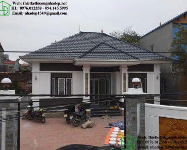 Nhà thái đẹp 1 tầng tại Bắc Ninh NDBT1T77