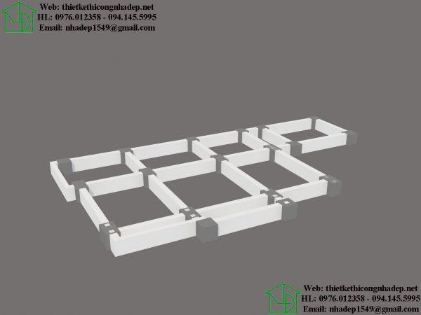 3D móng cọc