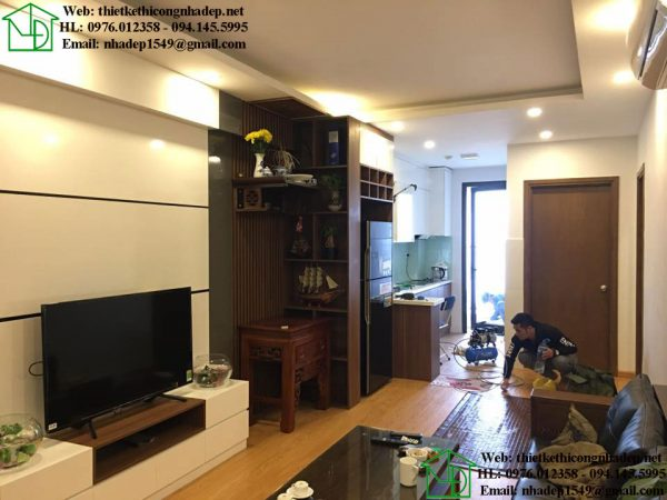 Đóng đồ gỗ nội thất chung cư