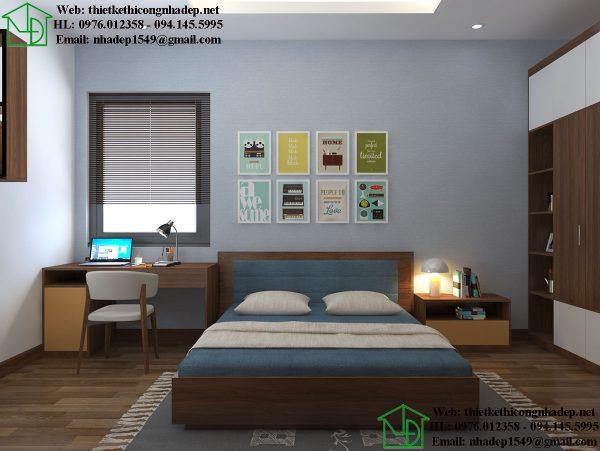 Giường ngủ hiện đại NDNTBT3