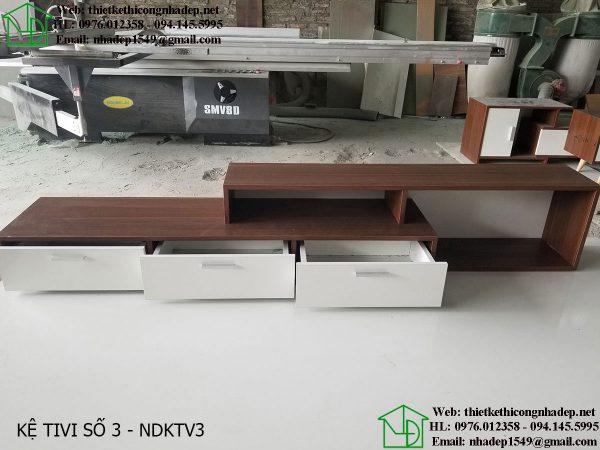 Mẫu kệ tivi đẹp giá rẻ NDKTV3