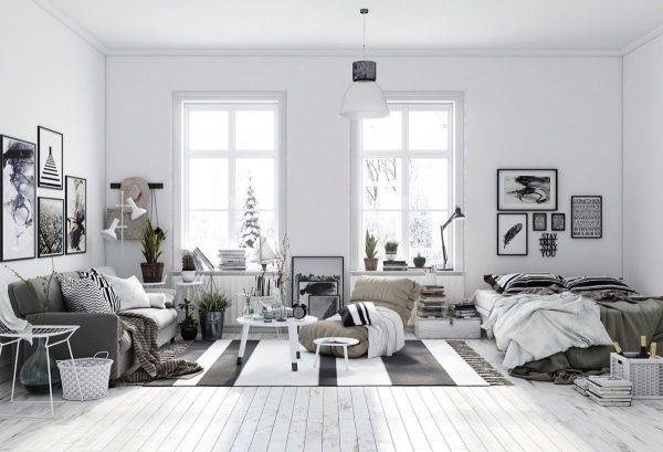 Phong cách thiết kế Scandinavian mang trong mình rất nhiều những đặc điểm riêng nổi bật