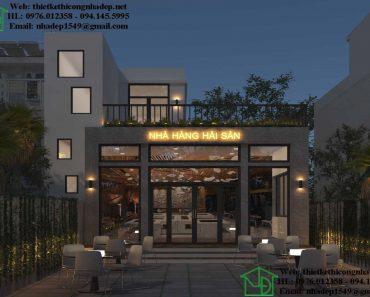 hình ảnh Thiết kế nhà hàng hải sản NDNH3