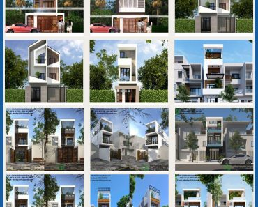 Các mẫu nhà phố 3 tầng