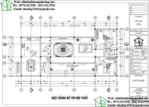 biệt thự 1 tầng 10x21m NDBT1T96