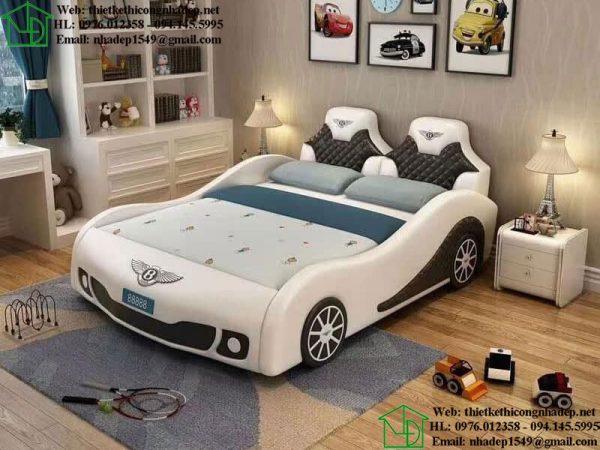 Giường ngủ ô tô