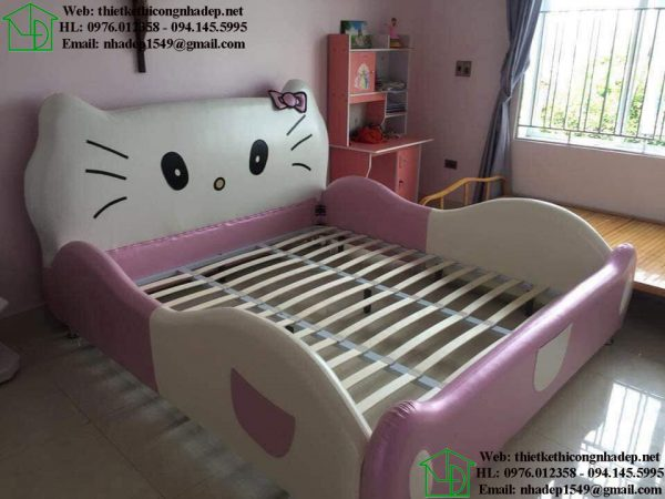 Giường ngủ ô tô cho trẻ em