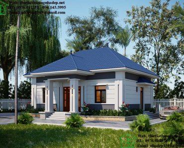 Thiết kế nhà cấp 4 9x12m NDNC4108