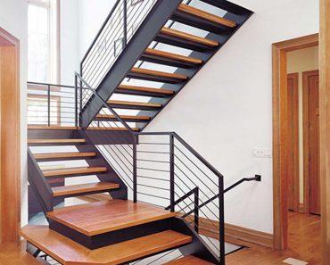 cầu thang cho nhà diện tích nhỏ