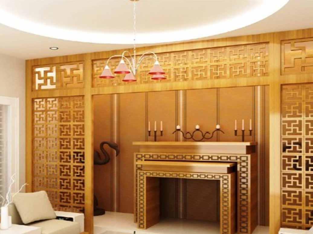 Thiết kế nhà ống 2 tầng 3 phòng ngủ có phòng thờ.